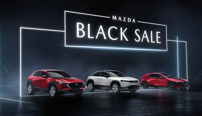 MAZDA BLACK SALE